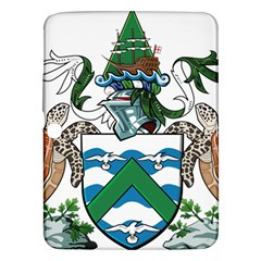 Coat Of Arms Of Ascension Island Samsung Galaxy Tab 3 (10 1 ) P5200 Hardshell Case  by abbeyz71