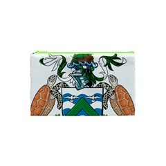 Coat Of Arms Of Ascension Island Cosmetic Bag (xs) by abbeyz71