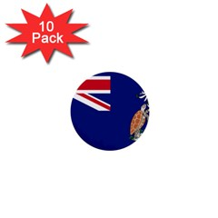 Flag Of Ascension Island 1  Mini Buttons (10 Pack)  by abbeyz71
