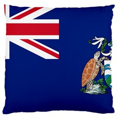 Flag Of Ascension Island Large Cushion Case (two Sides) by abbeyz71