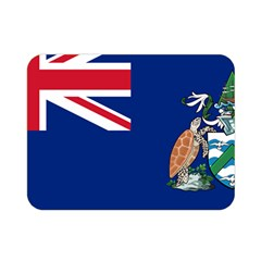 Flag Of Ascension Island Double Sided Flano Blanket (mini)  by abbeyz71