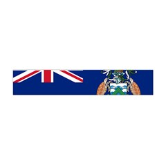 Flag Of Ascension Island Flano Scarf (mini) by abbeyz71
