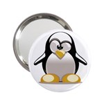 Tux Linux hacker custom 2.25  Handbag Mirror