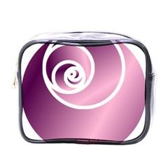 Rose Mini Toiletries Bags by Jylart