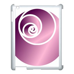 Rose Apple Ipad 3/4 Case (white) by Jylart