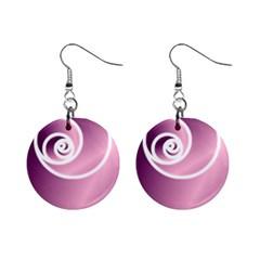 Rose Mini Button Earrings by Jylart