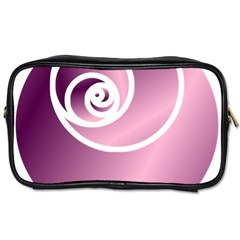 Rose Toiletries Bags 2 Side by Jylart