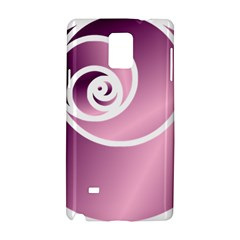 Rose Samsung Galaxy Note 4 Hardshell Case by Jylart