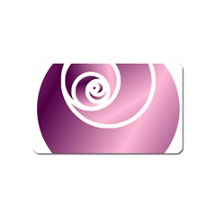 Rose  Magnet (name Card) by Jylart