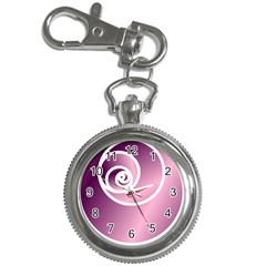 Rose  Key Chain Watches by Jylart