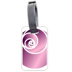 Rose  Luggage Tags (one Side)  by Jylart