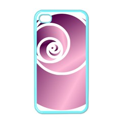 Rose  Apple Iphone 4 Case (color) by Jylart