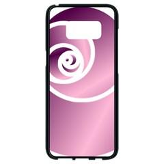 Rose  Samsung Galaxy S8 Black Seamless Case by Jylart