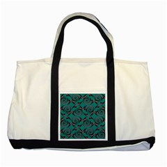 Spirals Two Tone Tote Bag by Jylart