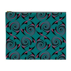 Spirals Cosmetic Bag (xl) by Jylart