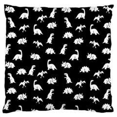 Dinosaurs Pattern Large Flano Cushion Case (one Side)