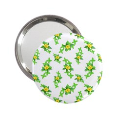 Airy Floral Pattern 2 25  Handbag Mirrors by dflcprints