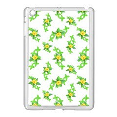 Airy Floral Pattern Apple Ipad Mini Case (white) by dflcprints