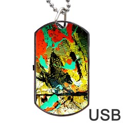 Fragrance Of Kenia 6 Dog Tag Usb Flash (one Side) by bestdesignintheworld