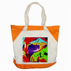 Untitled Island 2 Accent Tote Bag by bestdesignintheworld