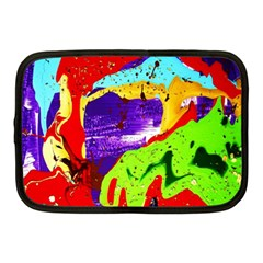 Untitled Island 2 Netbook Case (medium)  by bestdesignintheworld
