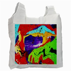 Untitled Island 2 Recycle Bag (two Side)  by bestdesignintheworld