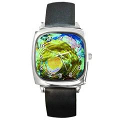June Gloom 9 Square Metal Watch by bestdesignintheworld
