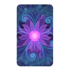 Blown Glass Flower Of An Electricblue Fractal Iris Memory Card Reader by jayaprime