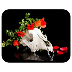 Animal Skull With A Wreath Of Wild Flower Full Print Lunch Bag by igorsin