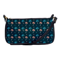 Summer Palms Pattern Shoulder Clutch Bags by TastefulDesigns