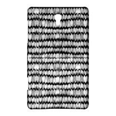 Abstract Wavy Black And White Pattern Samsung Galaxy Tab S (8 4 ) Hardshell Case