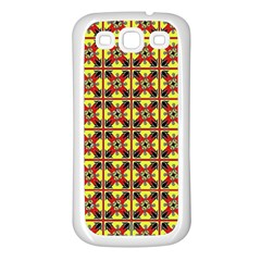 Artwork By Patrick Colorful 45 Samsung Galaxy S3 Back Case (white)