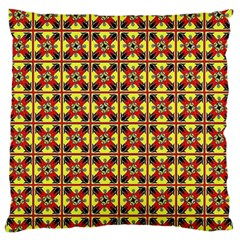 Artwork By Patrick Colorful 45 Large Flano Cushion Case (one Side)
