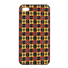 Artwork By Patrick Colorful 45 1 Apple Iphone 4/4s Seamless Case (black)