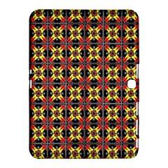 Artwork By Patrick Colorful 45 1 Samsung Galaxy Tab 4 (10 1 ) Hardshell Case