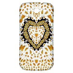 Hearts In A Field Of Fantasy Flowers In Bloom Samsung Galaxy S3 S Iii Classic Hardshell Back Case by pepitasart