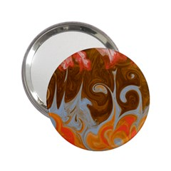 Fire And Water 2 25  Handbag Mirrors by digitaldivadesigns