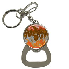 Fire And Water Bottle Opener Key Chains by digitaldivadesigns