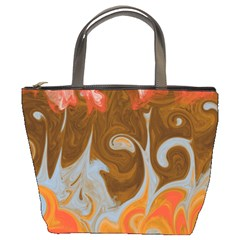 Fire And Water Bucket Bags by digitaldivadesigns