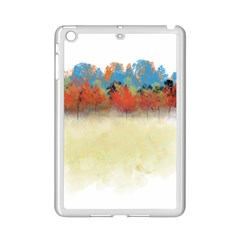 Colorful Tree Landscape In Orange And Blue Ipad Mini 2 Enamel Coated Cases by digitaldivadesigns