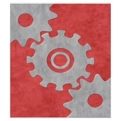 Euphoria   Player   Small   Red By Dean   Drawstring Pouch (small)   Za9ljsjmbi04   Www Artscow Com Front
