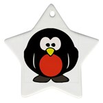 Tux Linux hacker custom Ornament (Star)
