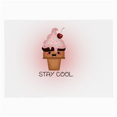Stay Cool Large Glasses Cloth (2 Side) by ZephyyrDesigns