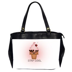 Stay Cool Office Handbags (2 Sides)  by ZephyyrDesigns