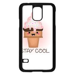 Stay Cool Samsung Galaxy S5 Case (black) by ZephyyrDesigns
