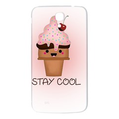 Stay Cool Samsung Galaxy Mega I9200 Hardshell Back Case by ZephyyrDesigns