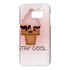 Stay Cool Samsung Galaxy S7 Hardshell Case  by ZephyyrDesigns
