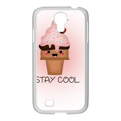 Stay Cool Samsung Galaxy S4 I9500/ I9505 Case (white) by ZephyyrDesigns