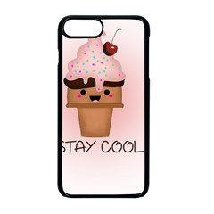 Stay Cool Apple Iphone 8 Plus Seamless Case (black) by ZephyyrDesigns