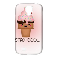 Stay Cool Samsung Galaxy S4 Classic Hardshell Case (pc+silicone) by ZephyyrDesigns